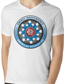 American Energy Independence Mens V-Neck T-Shirt