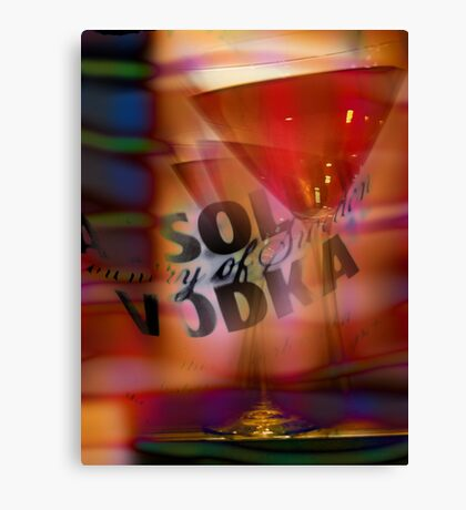 absolut vodka cosmopolitan Canvas Print