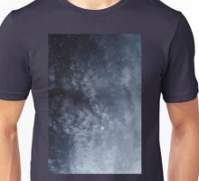 Blue veiled moon Unisex T-Shirt