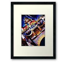 sleeping beauty's castle, disneyland Framed Print