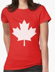 Canadian Maple Leaf Shirt/Mug - Canada Day Womens Fitted T-Shirt
