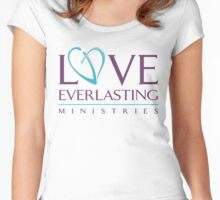 Love Everlasting Ministries Garb Women's Fitted Scoop T-Shirt