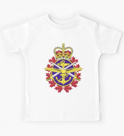 Canadian Forces (CF) Logo Kids Tee