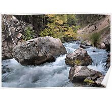 Spearfish Canyon Creek Poster