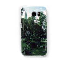 Across Bishop's cemetary to Cathedral Nidaros Cathedral Trondheim Norway 19840622 0032 Samsung Galaxy Case/Skin