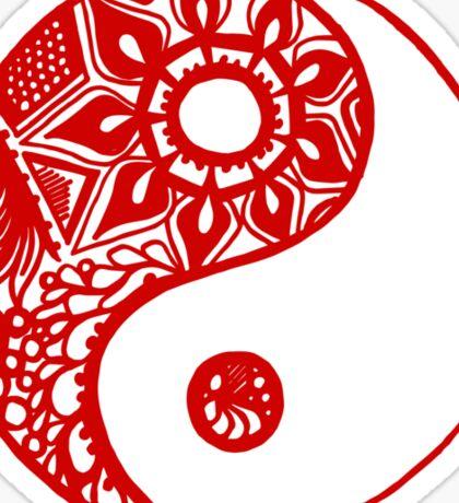 ying_yaang Sticker