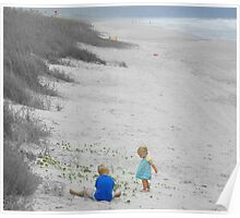 2 Kids on the Beach Poster