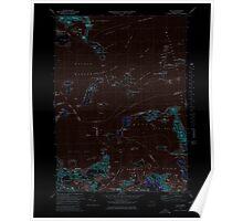 Massachusetts  USGS Historical Topo Map MA Hull 351031 1971 25000 Inverted Poster