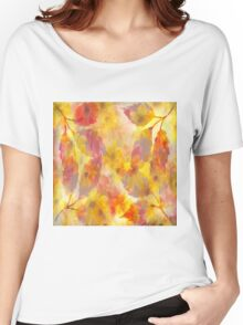 Changing Seasons Abstract Women's Relaxed Fit T-Shirt