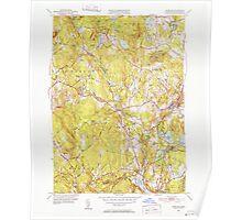 Massachusetts  USGS Historical Topo Map MA Sterling 352234 1950 31680 Poster