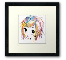 Miku Remix Framed Print