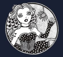 Little Miss Muffet Tee by Anita Inverarity