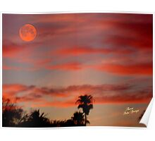 CANADIAN SUNSET/  dedicated to our Canadian Artist!!! Poster