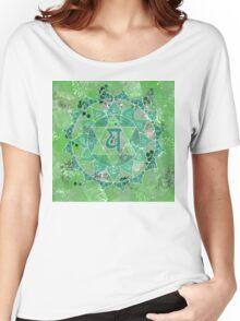 Fourth Chakra Mandala Women's Relaxed Fit T-Shirt