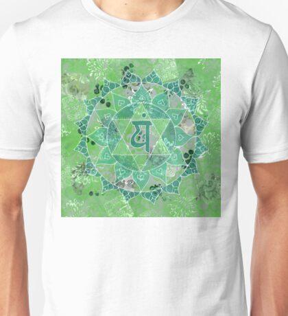 Fourth Chakra Mandala Unisex T-Shirt