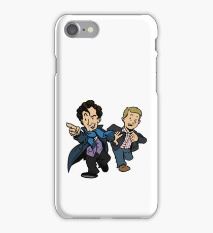Sherlock - The Game is On iPhone Case/Skin