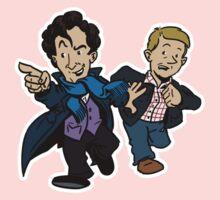 Sherlock - The Game is On Kids Tee