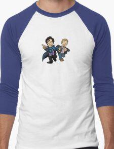 Sherlock - The Game is On Men's Baseball ¾ T-Shirt