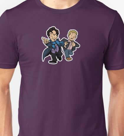 Sherlock - The Game is On Unisex T-Shirt