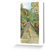 Road to Patrignone Greeting Card