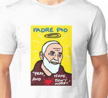 St. Pio Religious Folk Art Unisex T-Shirt