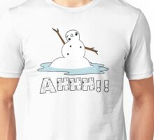 Melting Snowman Unisex T-Shirt