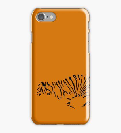 Tiger Outline iPhone Case/Skin