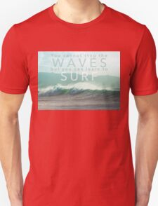 Surf Waves of Hawaii Unisex T-Shirt