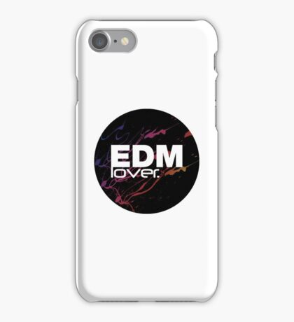 EDM (Electronic Dance Music) Lover. iPhone Case/Skin