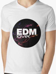 EDM (Electronic Dance Music) Lover. Mens V-Neck T-Shirt