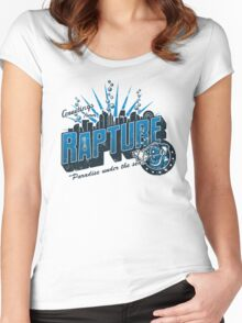 Greetings from Rapture! Women's Fitted Scoop T-Shirt