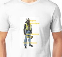 "Lone Wolves Trilogy: Rogue Warriors Danny ""Fang"" Miller Unisex T-Shirt"