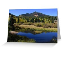 Mount Rosa from Gold Camp Road, CO 2010 Greeting Card