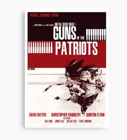 Patriots - Metal Gear Canvas Print