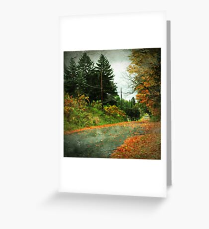 The Fallen (Leaves) Greeting Card