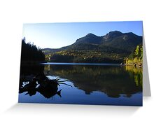 Gazing toward the fading summer, Rosemont Reservoir, CO 2010 Greeting Card