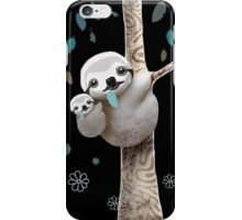 Baby Sloth Midnight iPhone Case/Skin