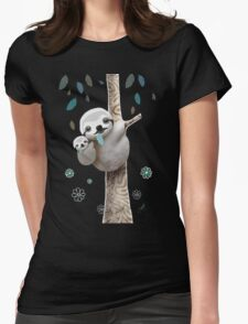 Baby Sloth Midnight T-Shirt