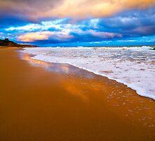 Jan Juc Beach by Danka Dear