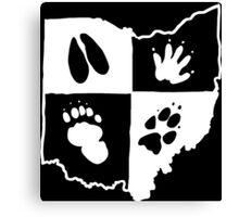 Ohio Furs (White Logo) Canvas Print