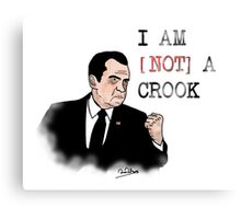 Not A Crook Canvas Print