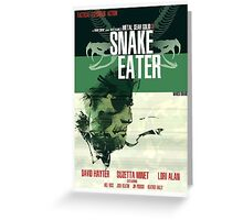 Snake Eater - Metal Gear Greeting Card