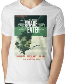 Snake Eater - Metal Gear Mens V-Neck T-Shirt