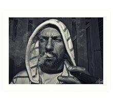 Smoker   Art Print