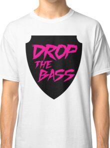 Drop The Bass Shield  Classic T-Shirt