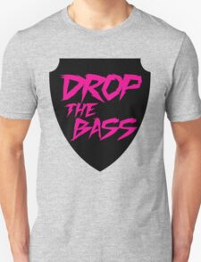 Drop The Bass Shield  Unisex T-Shirt