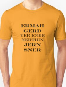 Ermahgerd Jon Snow - Game of Thrones T-Shirt