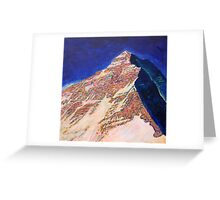 Everest - West ridge Greeting Card