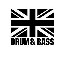 UK DRUM AND BASS Photographic Print