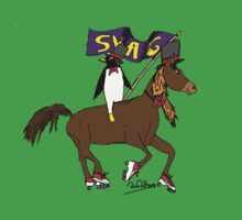 Penguin Horse Swag Flag Kids Clothes